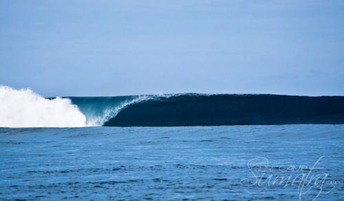 Suicides surf break Sumatra