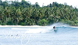 Beng Bengs surf break Sumatra