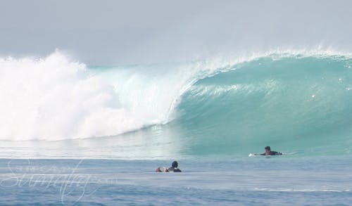 A Frames surf break Sumatra