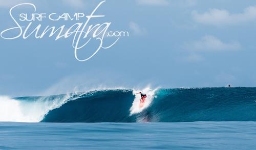 Asu surf break Sumatra