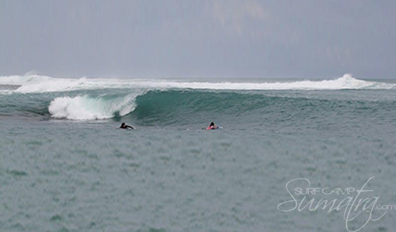 Mini Macas surf break Sumatra