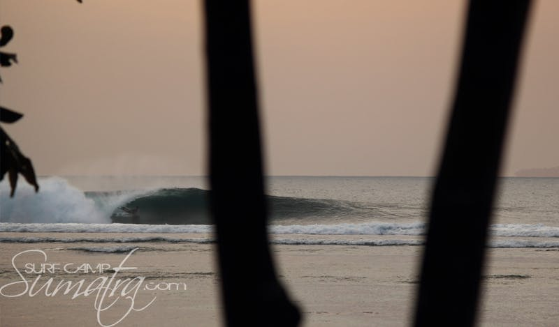 Leftovers surf break Sumatra