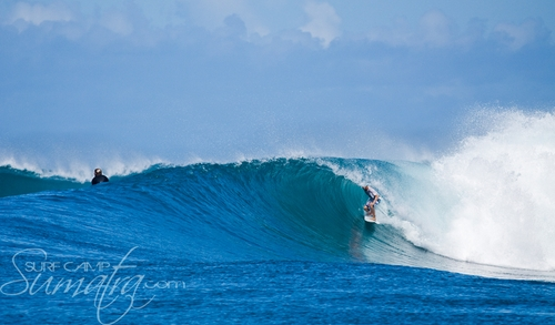 Bank Vaults surf break Sumatra
