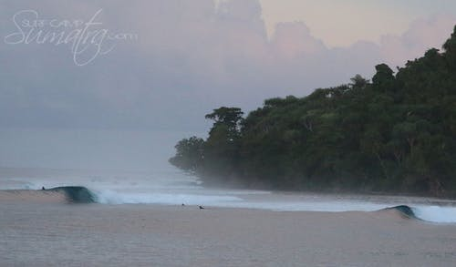 Lizards Nest surf break Sumatra