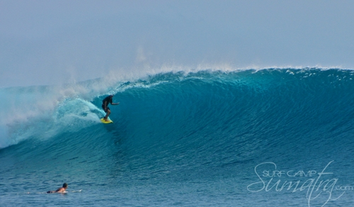 Icelands surf break Sumatra