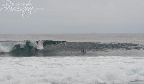 One Thong surf break Sumatra