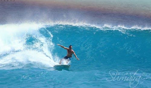 Baga surf break Sumatra