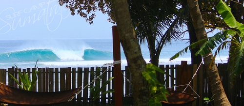 The Slab surf break Sumatra