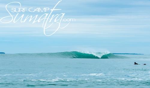 Sirombu surf break Sumatra