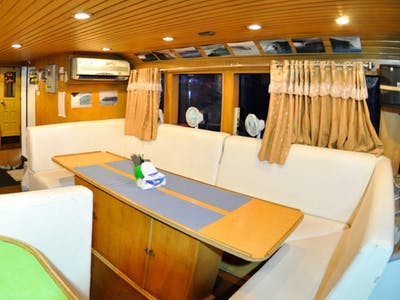 The impressive interior