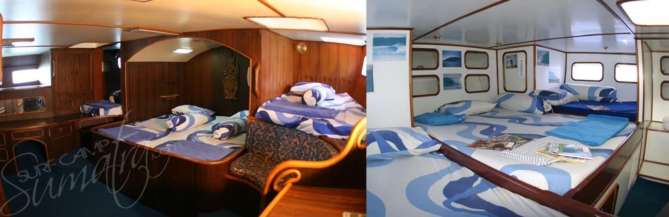 Impressive private cabins