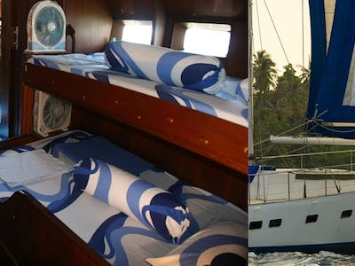 One of the best charter boats operating in Sumatra