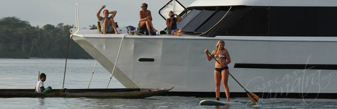 The most luxurious surf charter in the Mentawai Islands