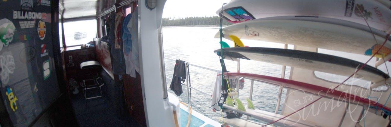 Onboard the Naga Laut