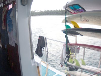 Onboard the Naga Laut