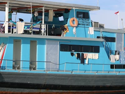 The Dream is a specialist surf charter boat that only operates in northern Sumatra
