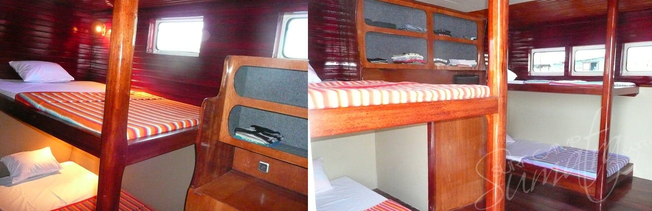 5 air conditioned cabins