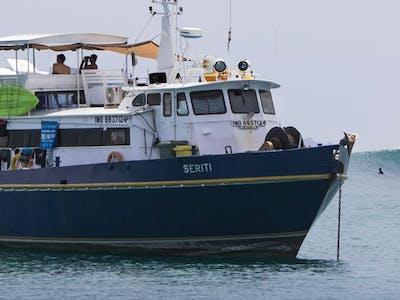 25m aluminium vessel that was originally built in the USA