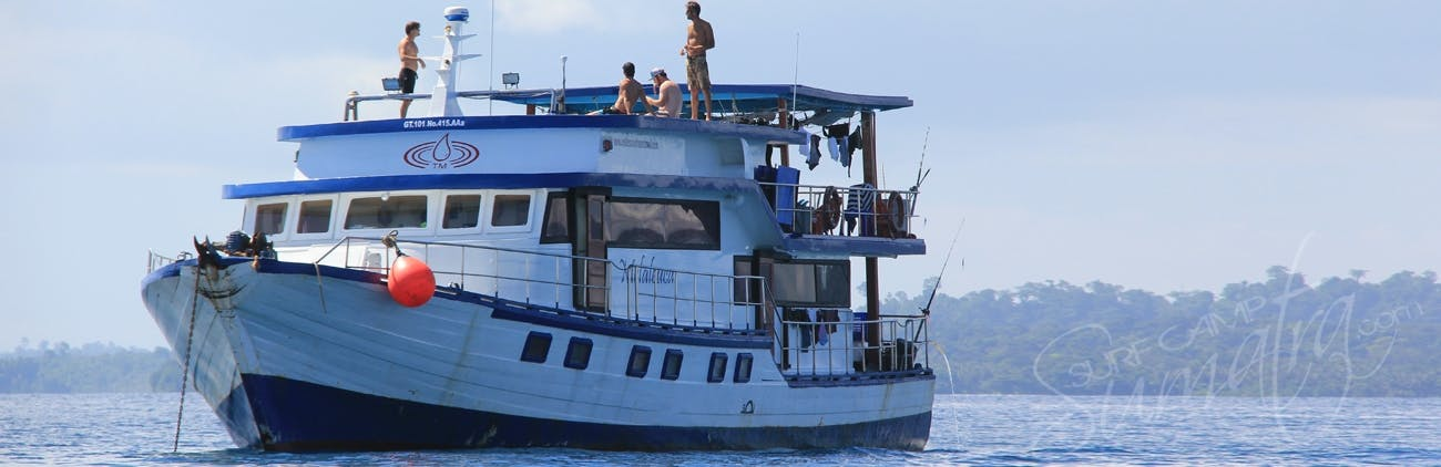 The Melaleuca is a traditional Indonesian motor boat built in 2007
