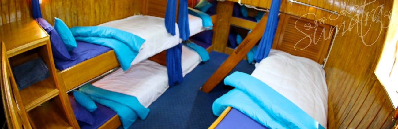 Dormitory style cabin with 11 beds