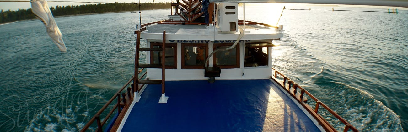 Plenty of room to relax aboard the Kuda Laut