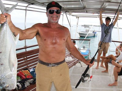 Fishing excursions are all part of the service