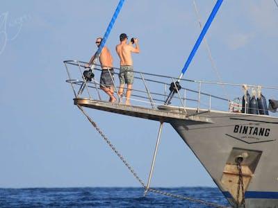 Anchored up in Sumatra