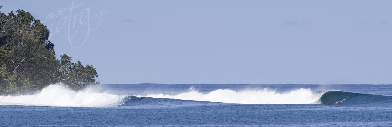 A pretty inviting set-up somewhere in north Sumatra