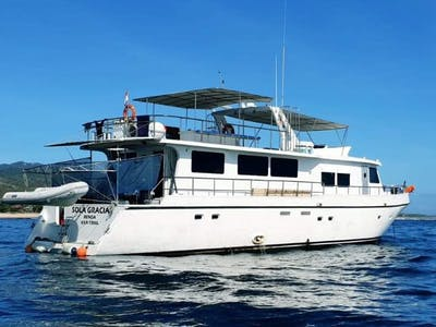 A high end surf charter but without the price tag