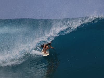 Slotted in the Mentawais