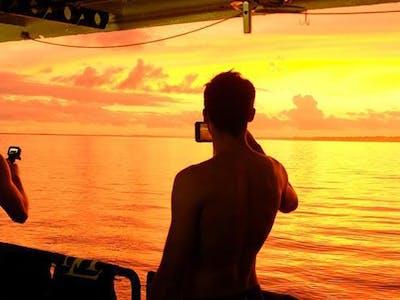 Sunset on the Santana Laut