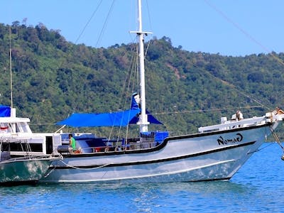 Anchored up in Sumatra