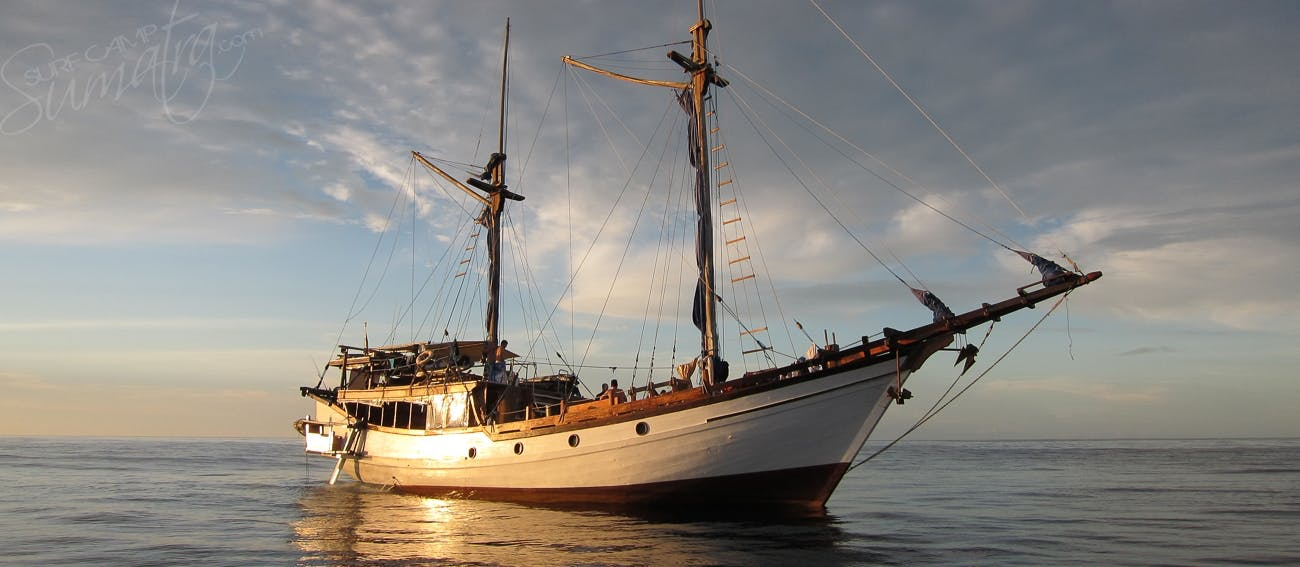 23 metre traditional phinisi vessel