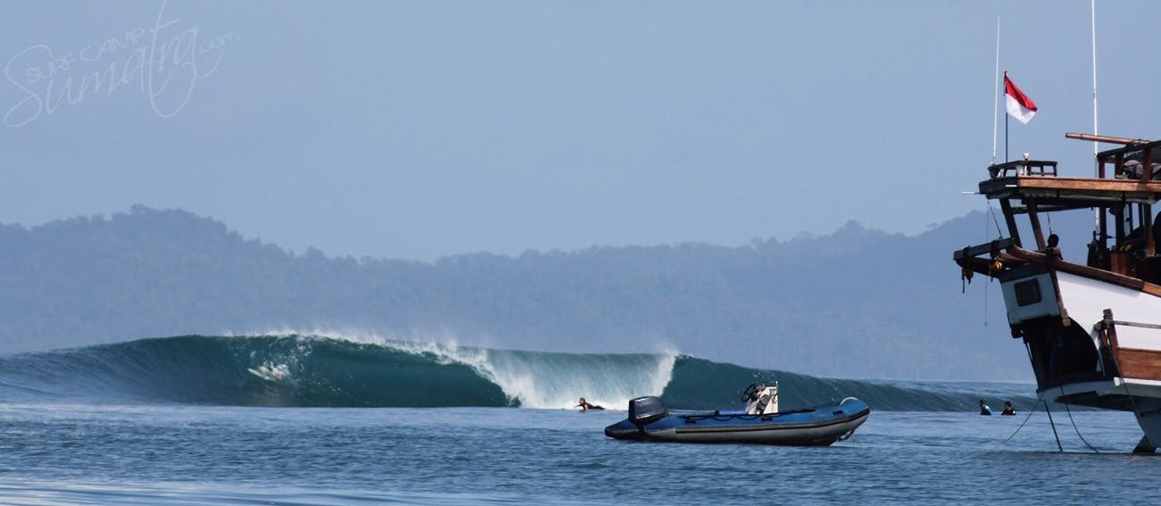 On the spot in Northern Sumatra