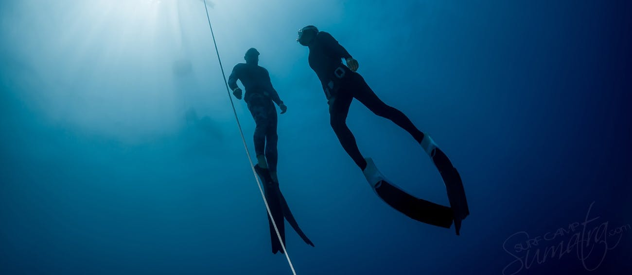 Free diving courses available on board the Jiwa