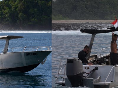 The Si Lion speedboat available all day every day