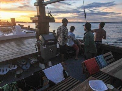 Indo Satu fore deck