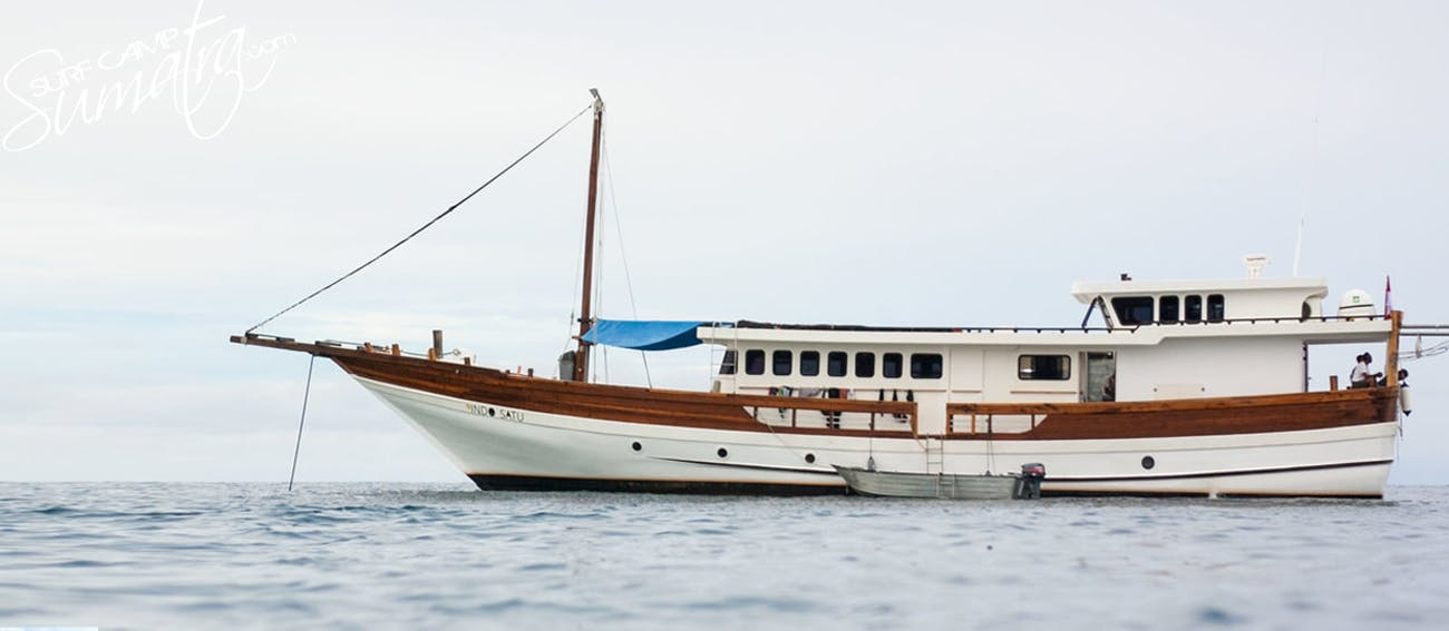 One of the newest charter boats operating in Sumatra
