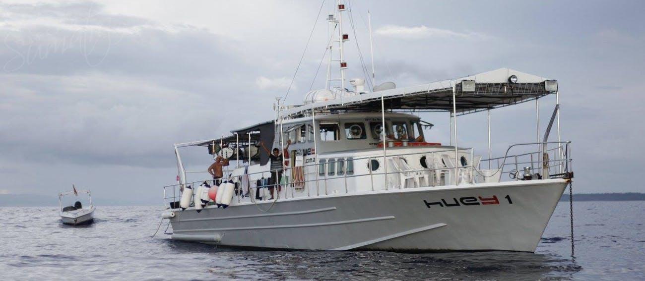 82 ft ex customs patrol vessel customised for surf charters