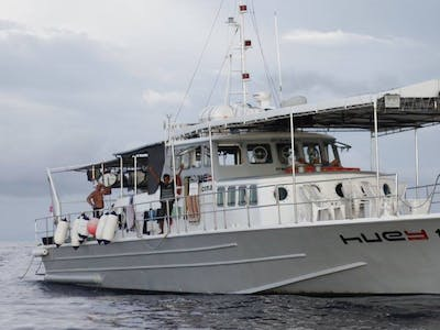 82 ft ex customs patrol vessel customised for surf charters