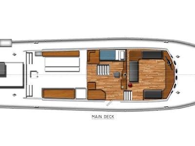 Huey main deck