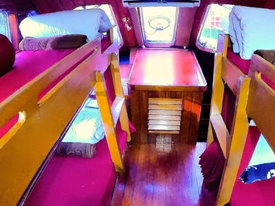 2nd cabin with 2 bunks