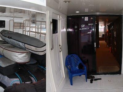 Plenty of room on board