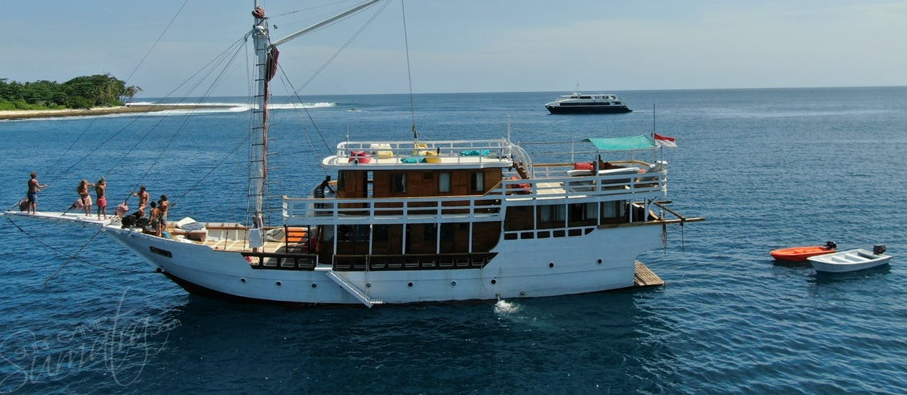 Anchored in the Mentawai Islands