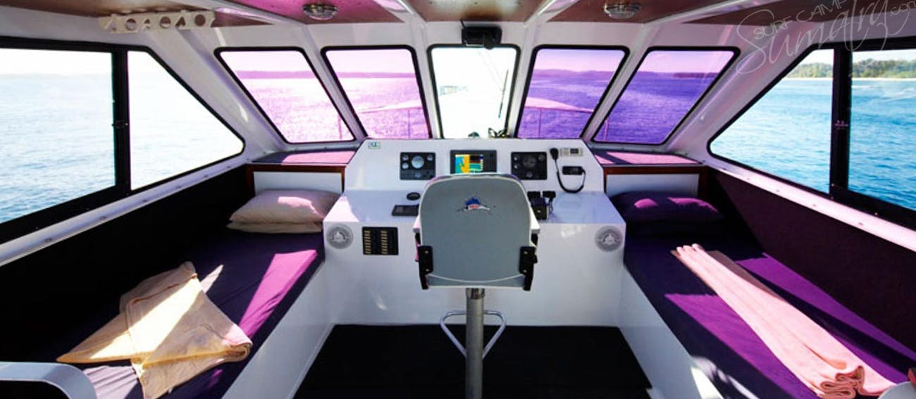 Captains bridge