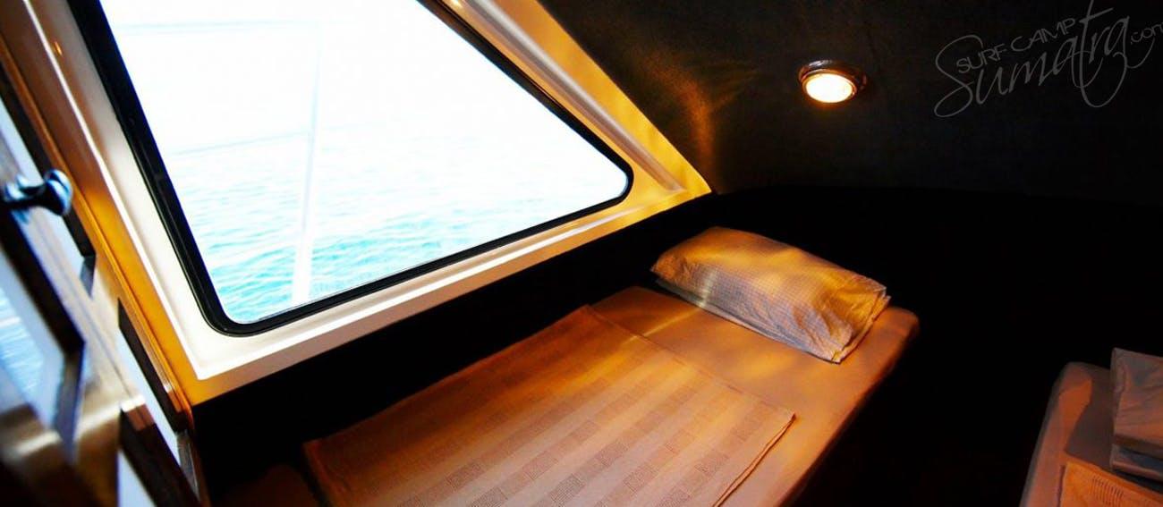 Private guest cabin