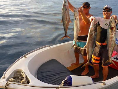 Fishing trips included in all packages