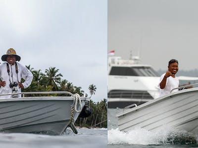Tengirri speedboat