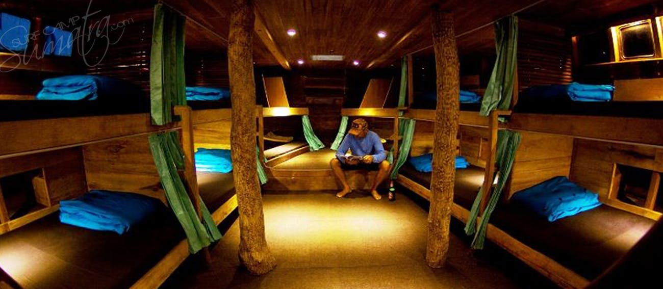 Main guest sleeping quarters