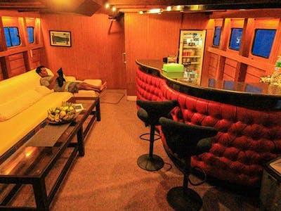 Saloon and bar